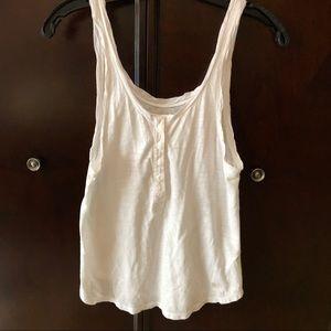 White Abercrombie top